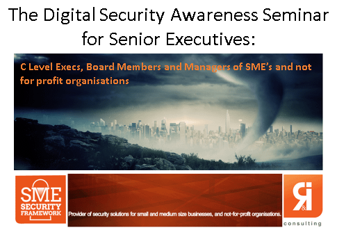 The digital Security Awareness Seminar Graphic